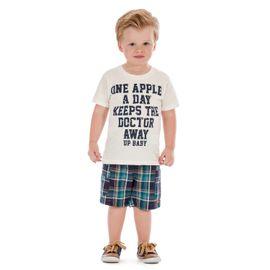 conjunto-menino-up-baby-camiseta-offwhite-e-bermuda-xadrez