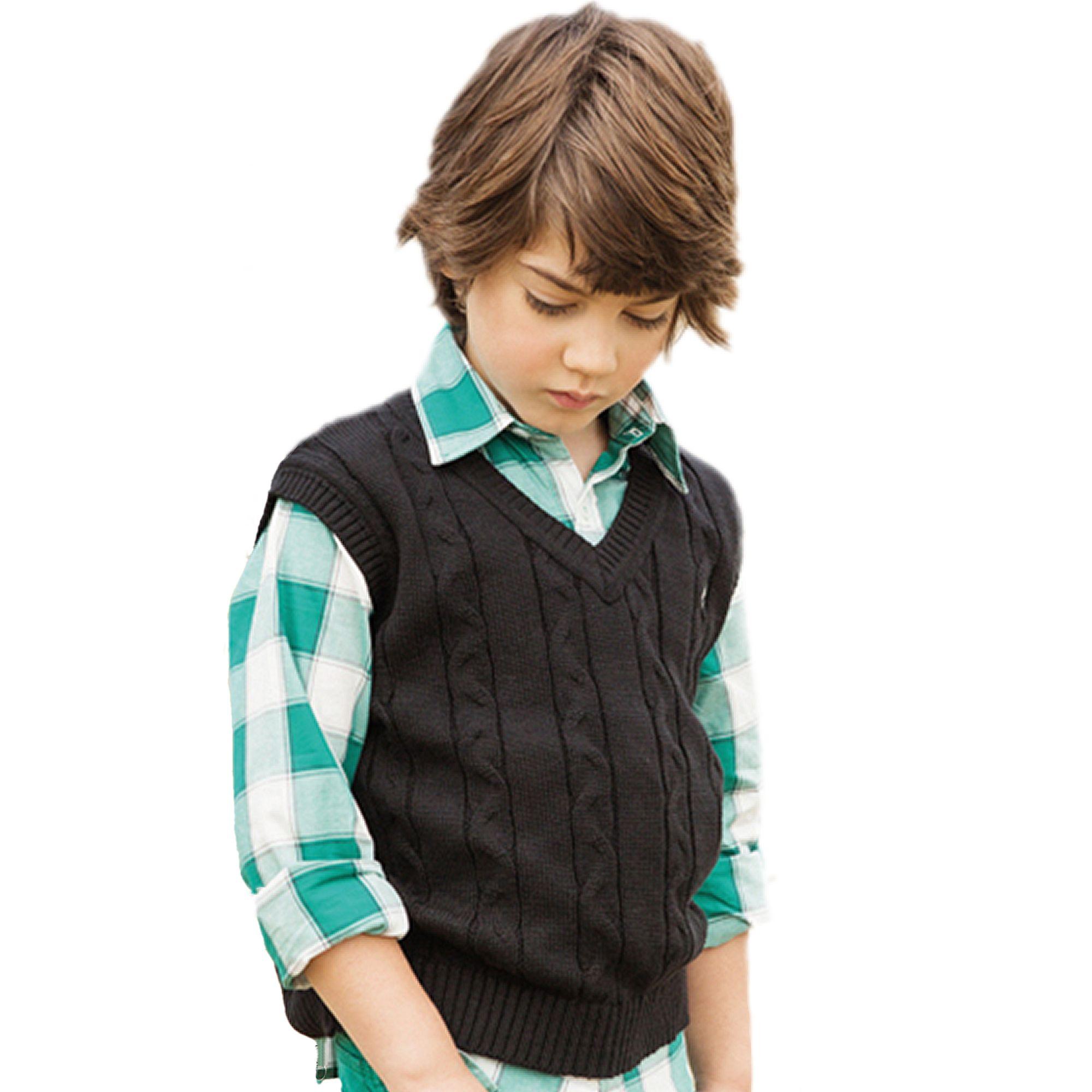 colete-infantil-trico-preto-com-trancas-toffee-inverno