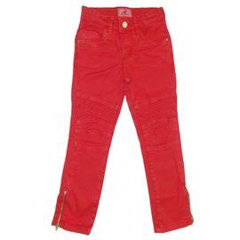 calca-menina-sarja-vermelha-skinny-missfloor-frente