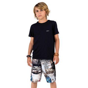 conjunto-menino-camiseta-preta-e-bermuda-nylon-estampada-johnny-fox