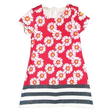 vestido-menina-vermelho-com-margaridas-com-barrado-listras-luluzinha