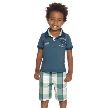 conjunto-menino-polo-malha-azul-e-bermuda-xadrez-verde-quimby