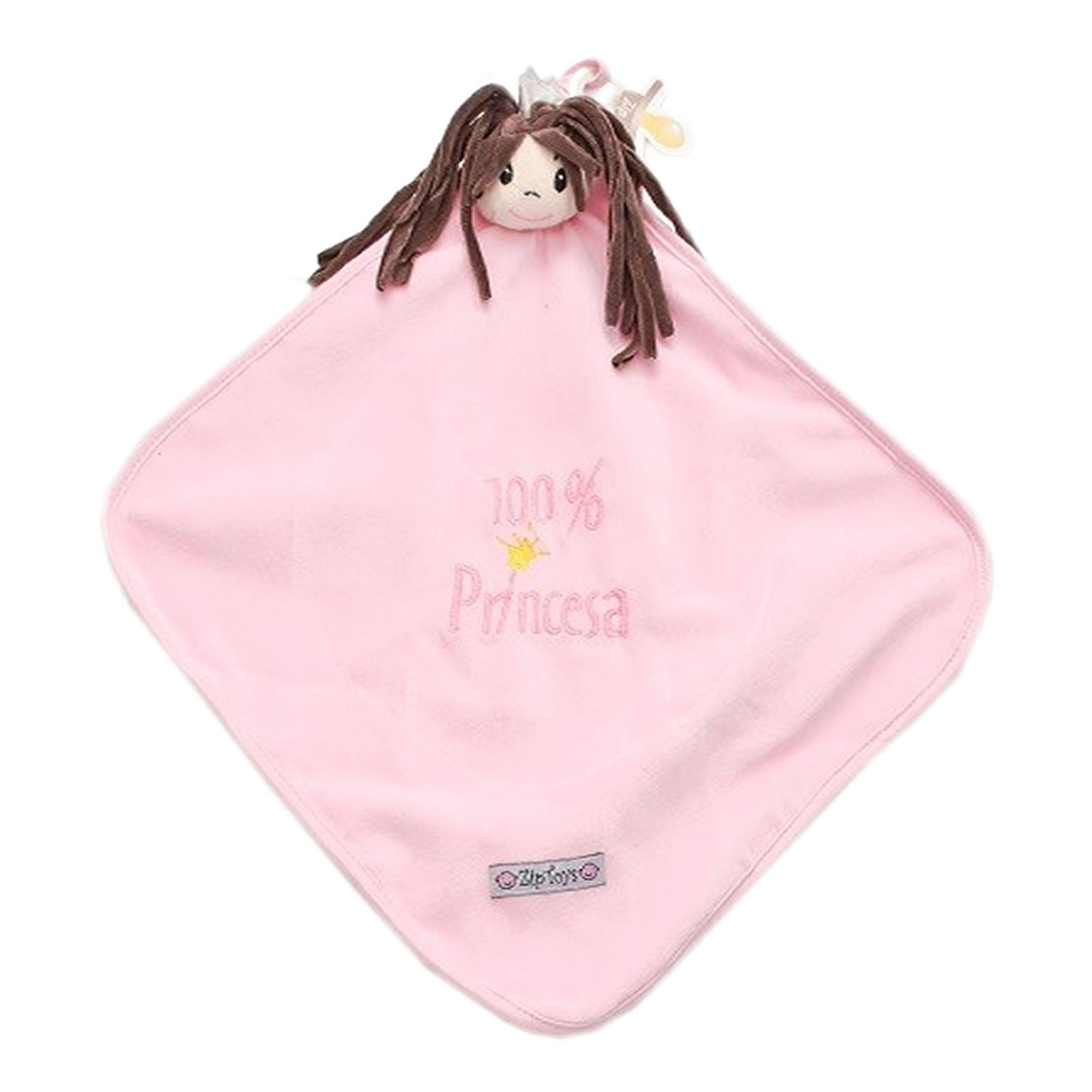 blanket-naninha-cetim-princesa-sophia-rosa-ziptoys