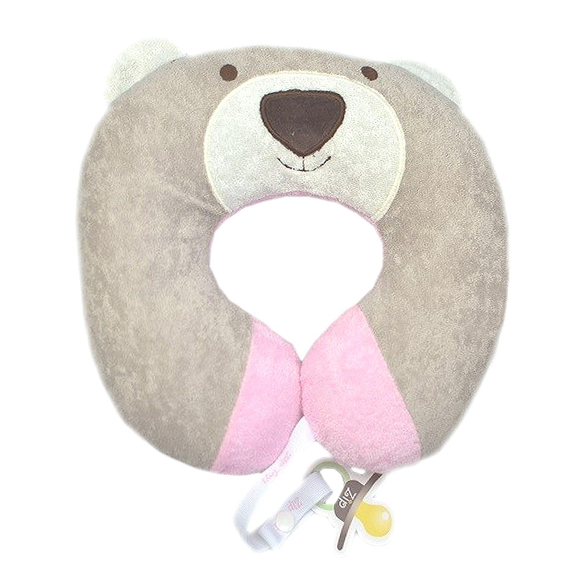 protetor-pescoco-baby-urso-nino-rosa-zip-toys-prendedor-chupeta