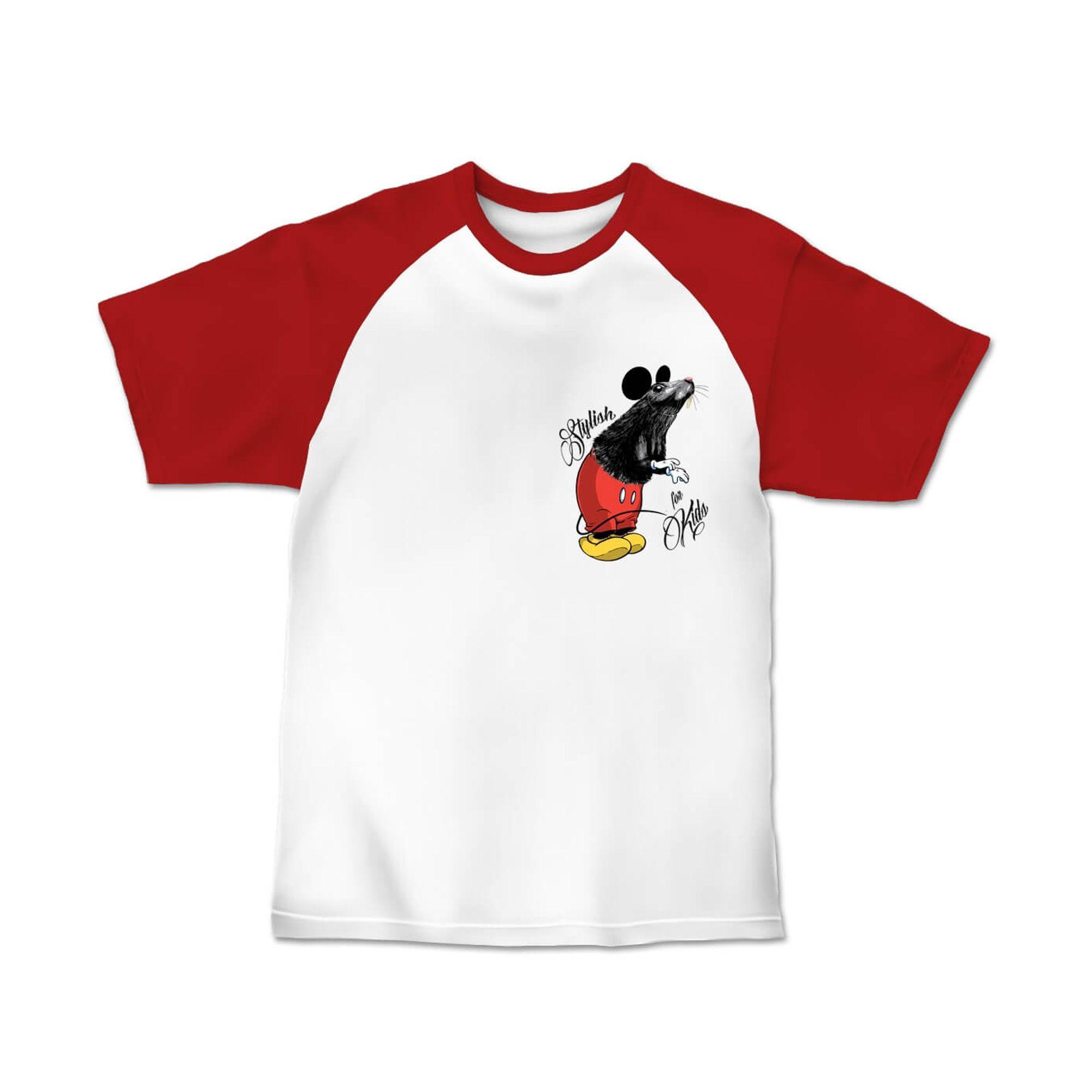 camiseta-menino-branca-mangas-vermelhas-camundongo-sfk