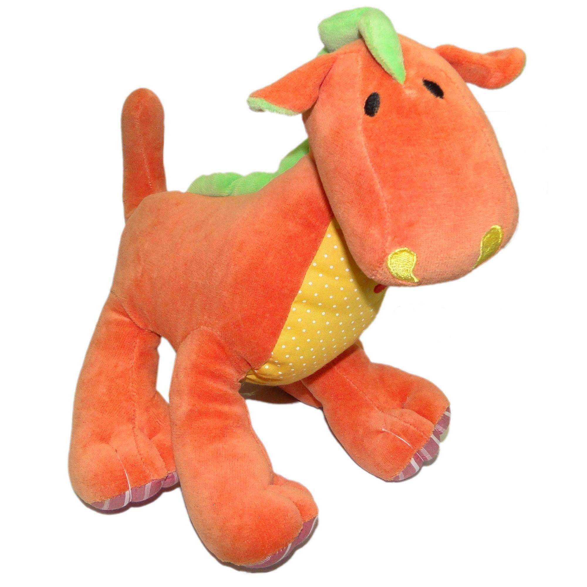 pelucia-dino-dragao-laranja-zip-toys