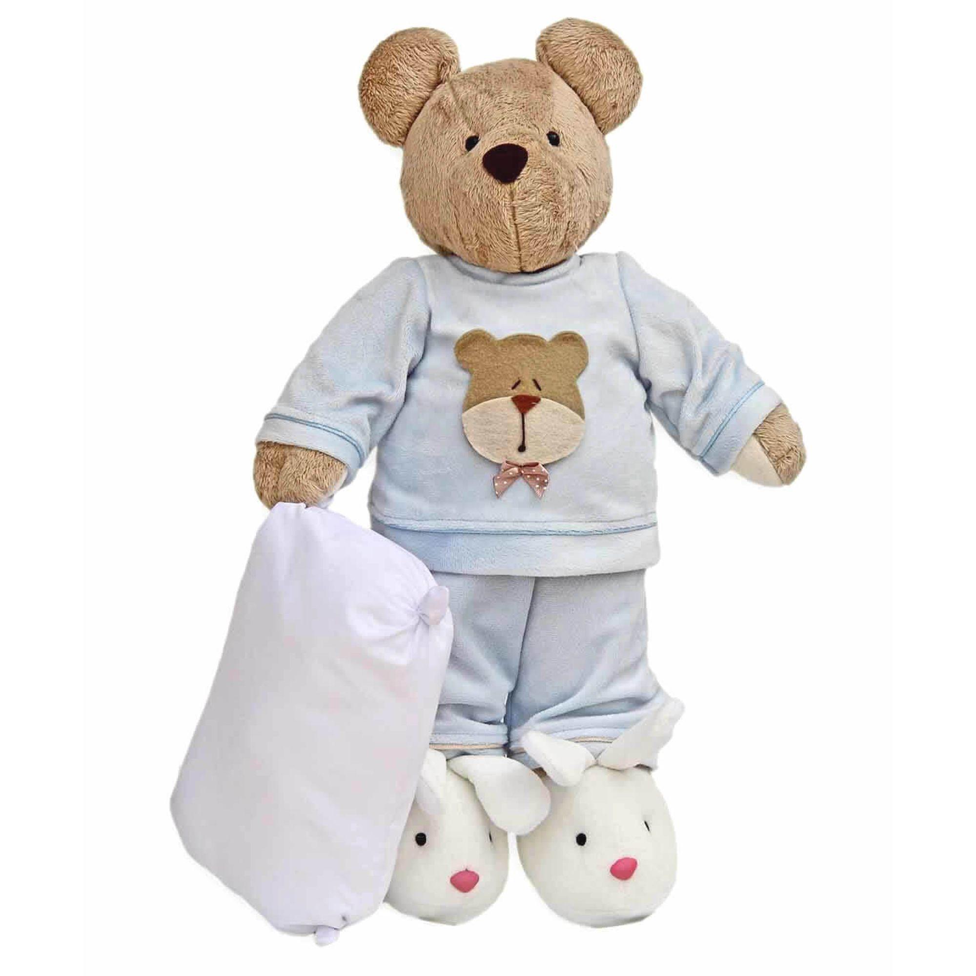 urso-pelucia-com-pijama-azul-silvia-polito