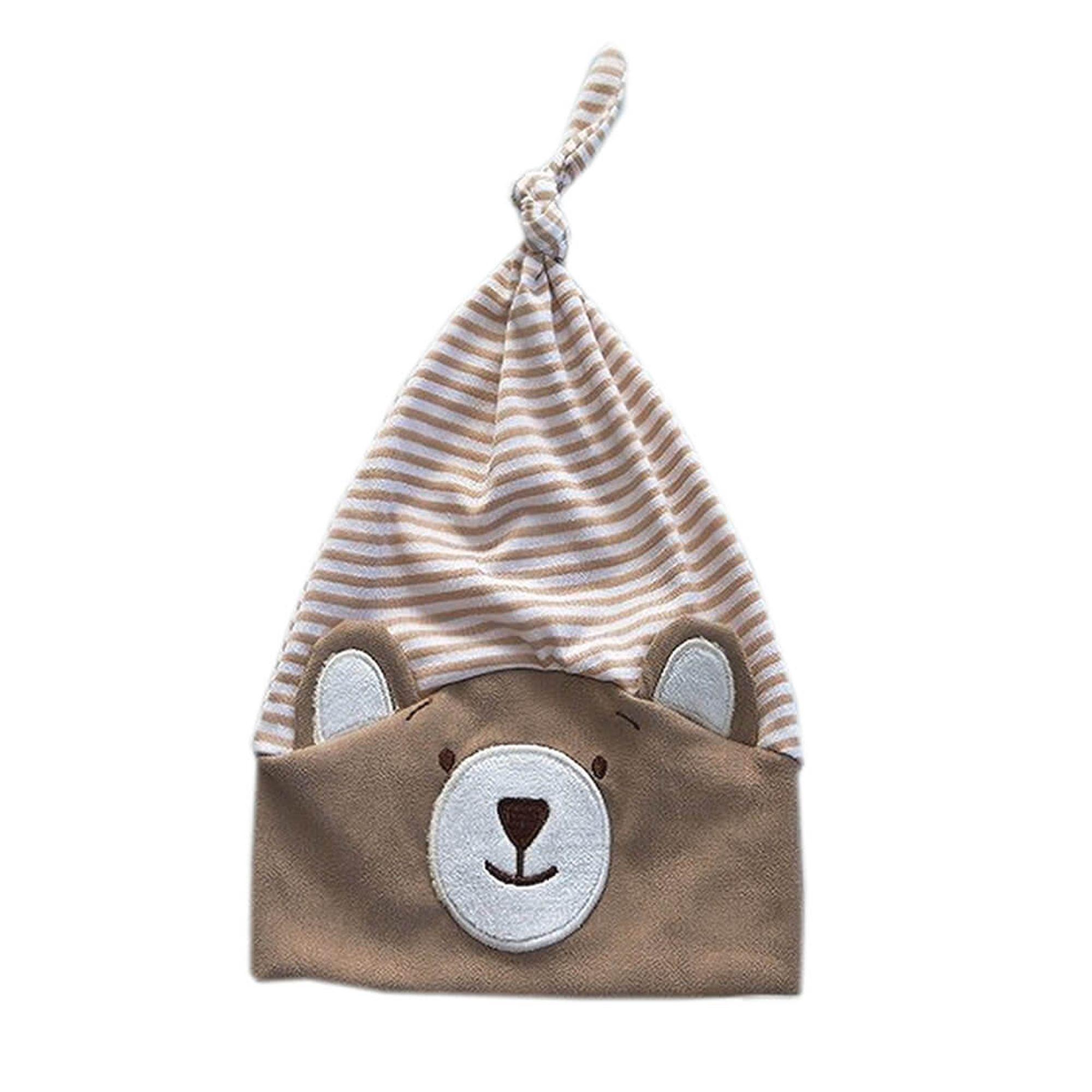 gorro-bebe-urso-nino-listrado-bege-ziptoys