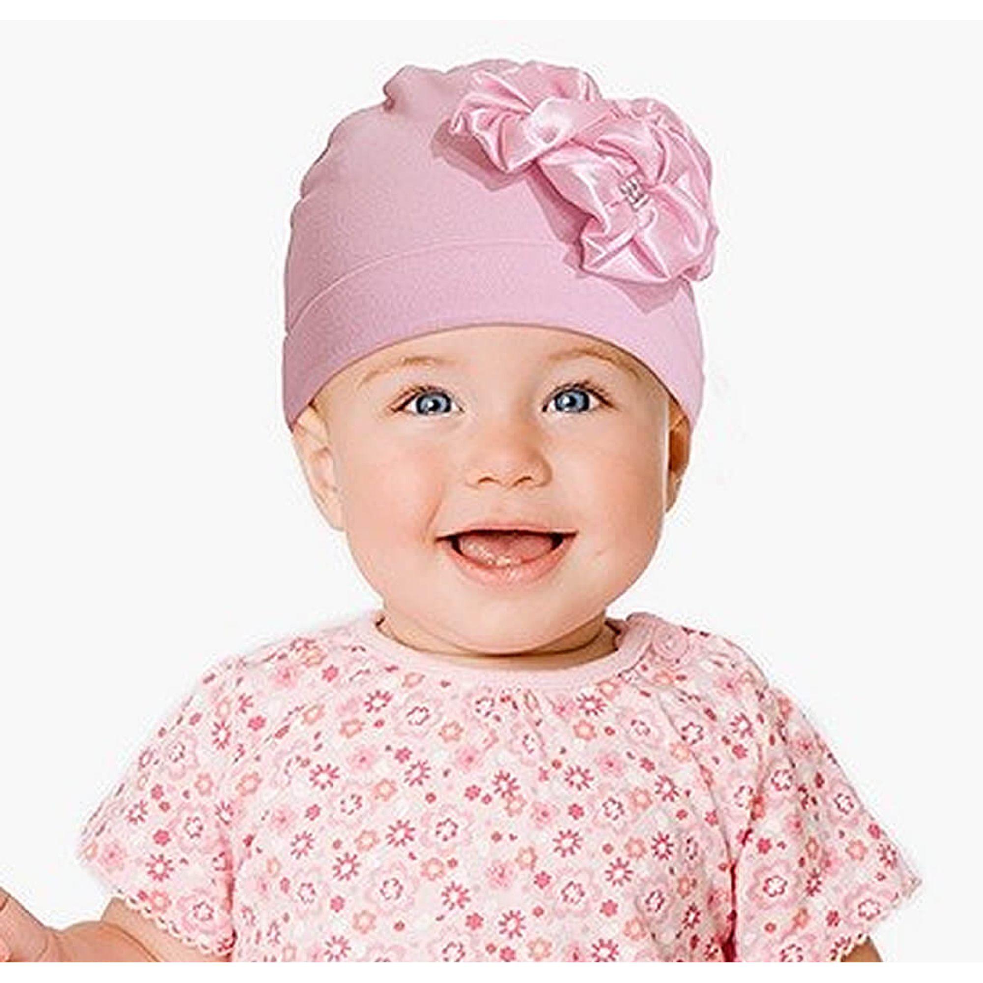touca-bebe-rosa-com-aplique-flores-ziptoys