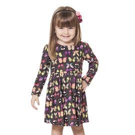 vestido-infantil-estampa-borboletas-cinza-escuro