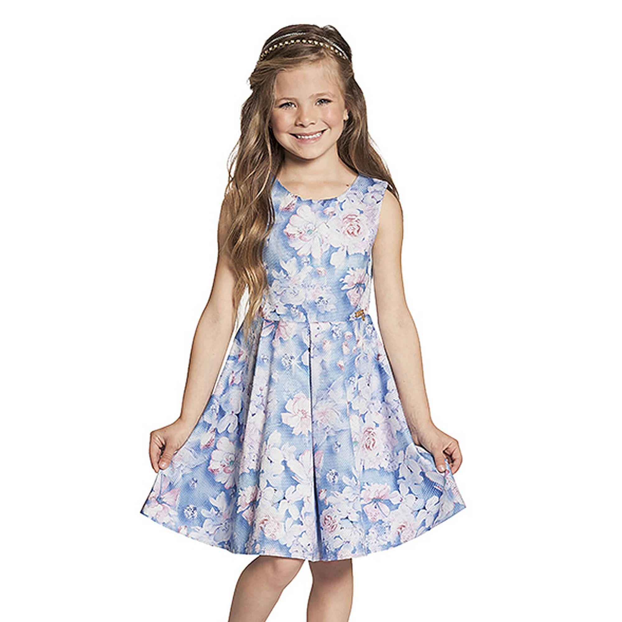 vestido-infantil-flores-azul-rosa-lilas-ninali