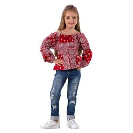conjunto-menina-bata-vermelha-cigana-e-calca-jeans