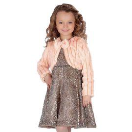 vestido-menina-paetes-oncinha-com-bolero-pelos-pessego