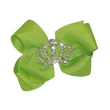 laco-cabelo-princesa-coroa-verde