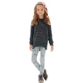 conjunto-menina-blusao-cinza-e-legging-estampada