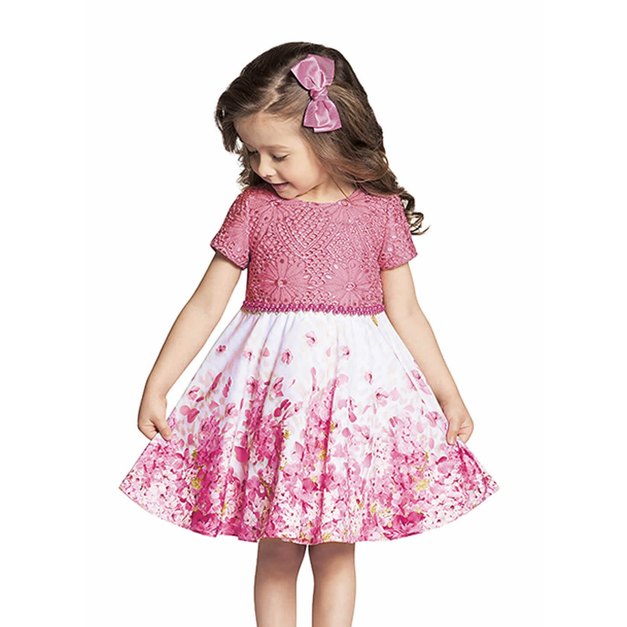 Vestidos Infantis Lindos Compre Vestido Infantil Na
