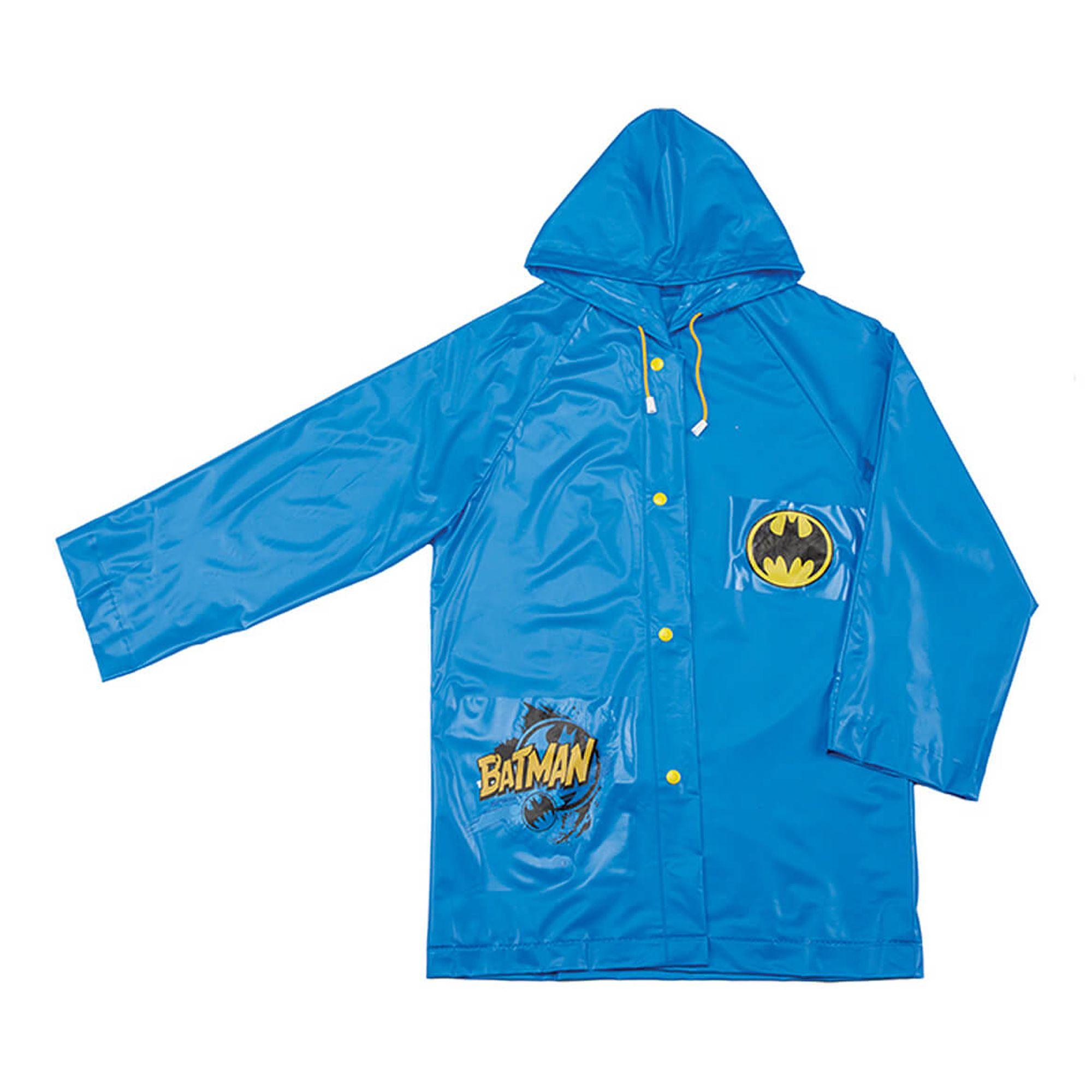 1aacdcf8ab4 Capa de Chuva Infantil Batman - EcaMeleca