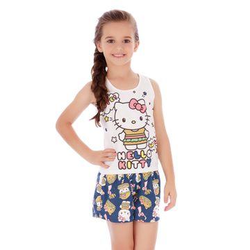 pijama-menina-curto-regata-e-short-azul-hello-kitty