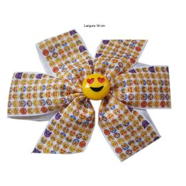 laco-cabelo-emoji-infantil-amarelo