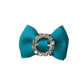mini-laco-para-cabelo-de-bebe-azul-anil-fecho-especial-lacos-da-sorte-loja-ecameleca-kids