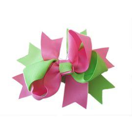 laco-de-cabelo-infantil-duplo-M-rosa-verde-Lacos-da-Sorte-loja-ecameleca-kids