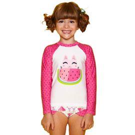 camiseta-praia-infantil-manga-longa-gatinha-rosa