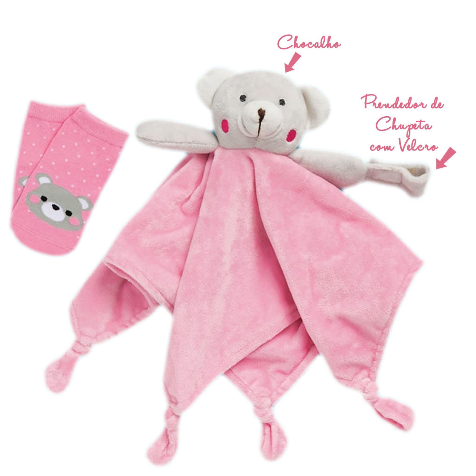 kit-naninha---meia-bebe-ursinha-rosa-puket-1