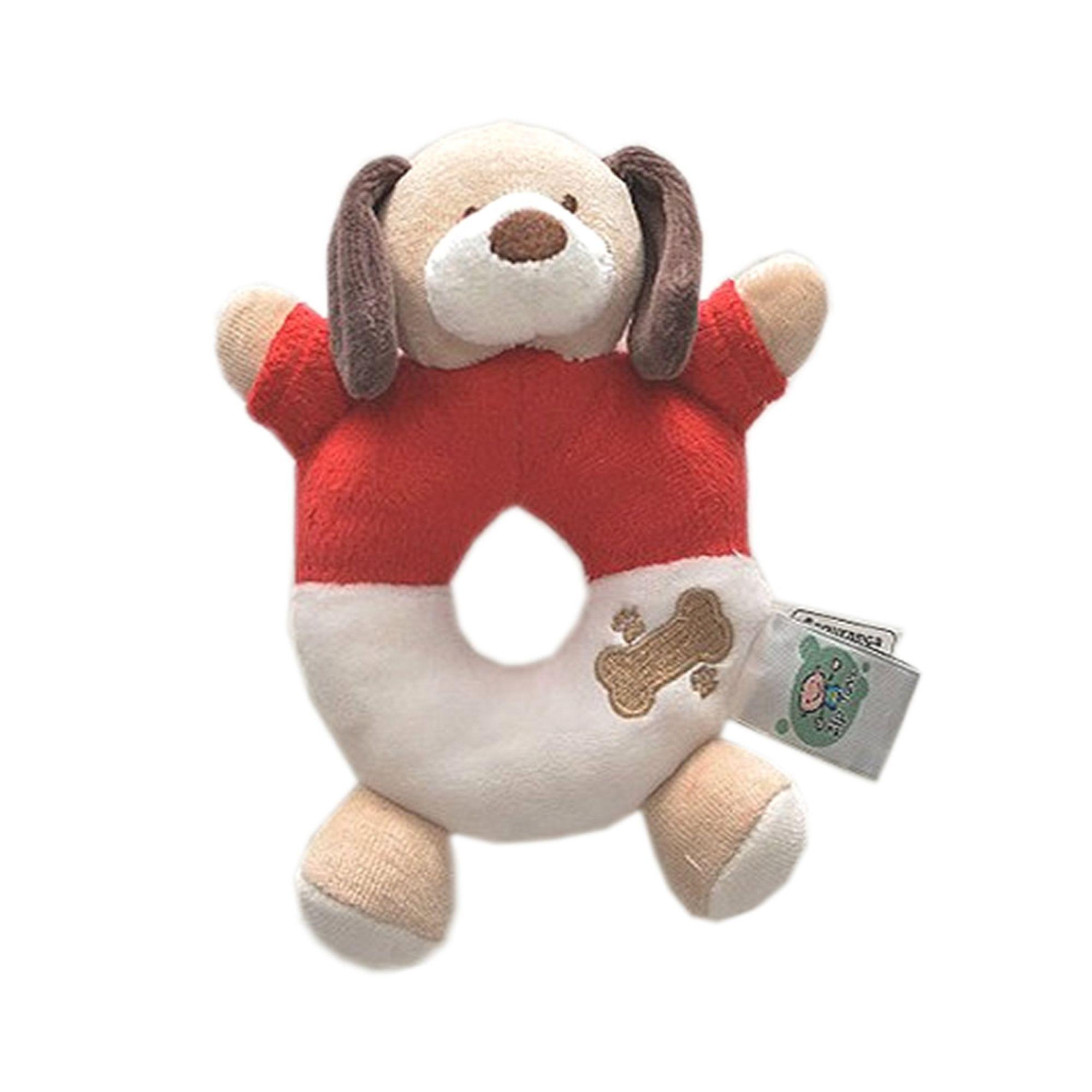 chocalho-bebe-cachorro-vermelho-ziptoys