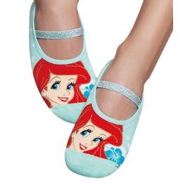meia-infantil-sapatilha-sereia-ariel-disney-puket