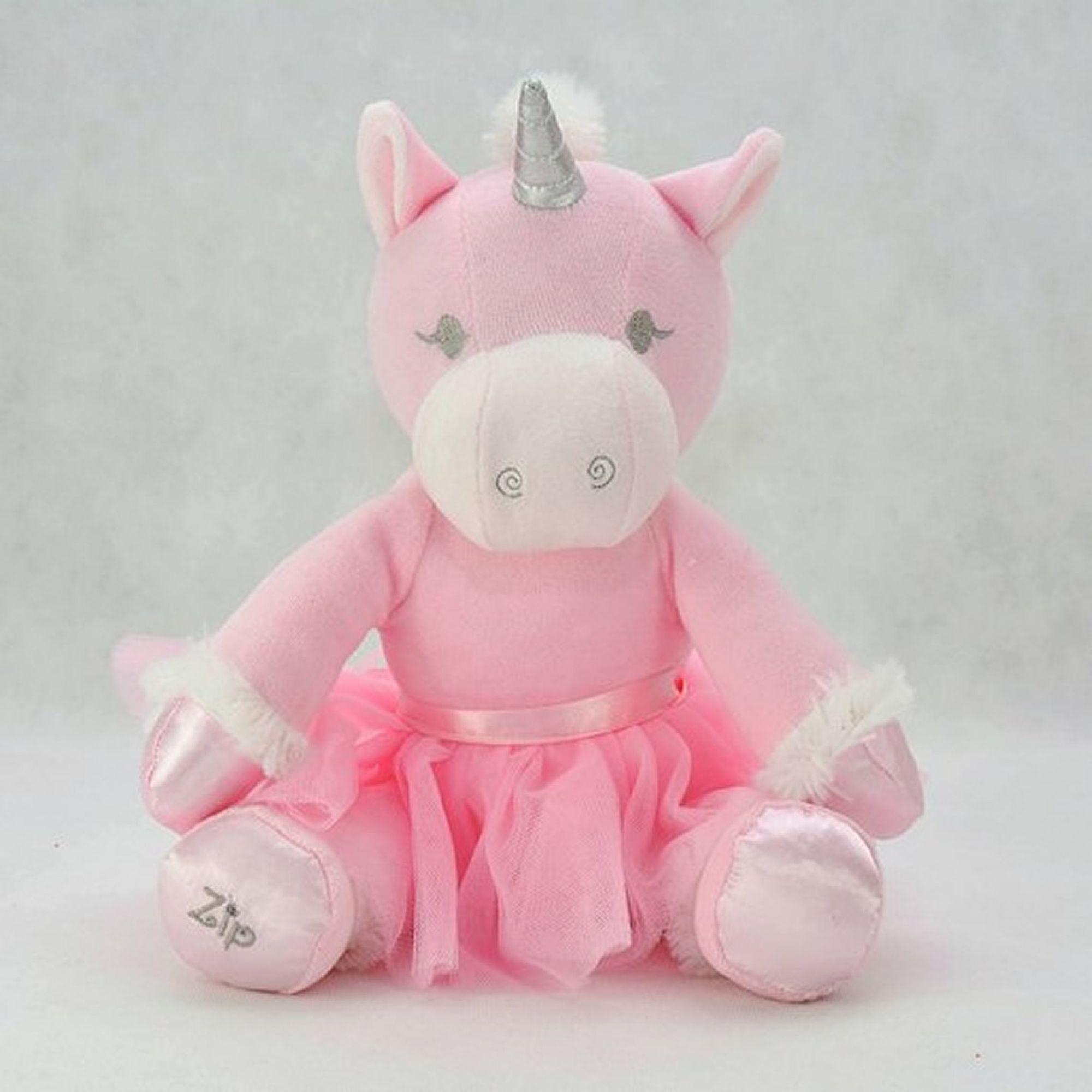 bichinho-pelucia-unicornio-bailarina-rosa-ziptoys