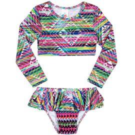 biquini-infantil-cropped-estampa-grafica-rosa-tip-top