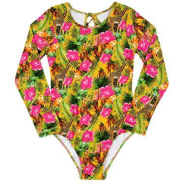 maio-body-infantil-manga-longa-amarelo-verde-tip-top-frente