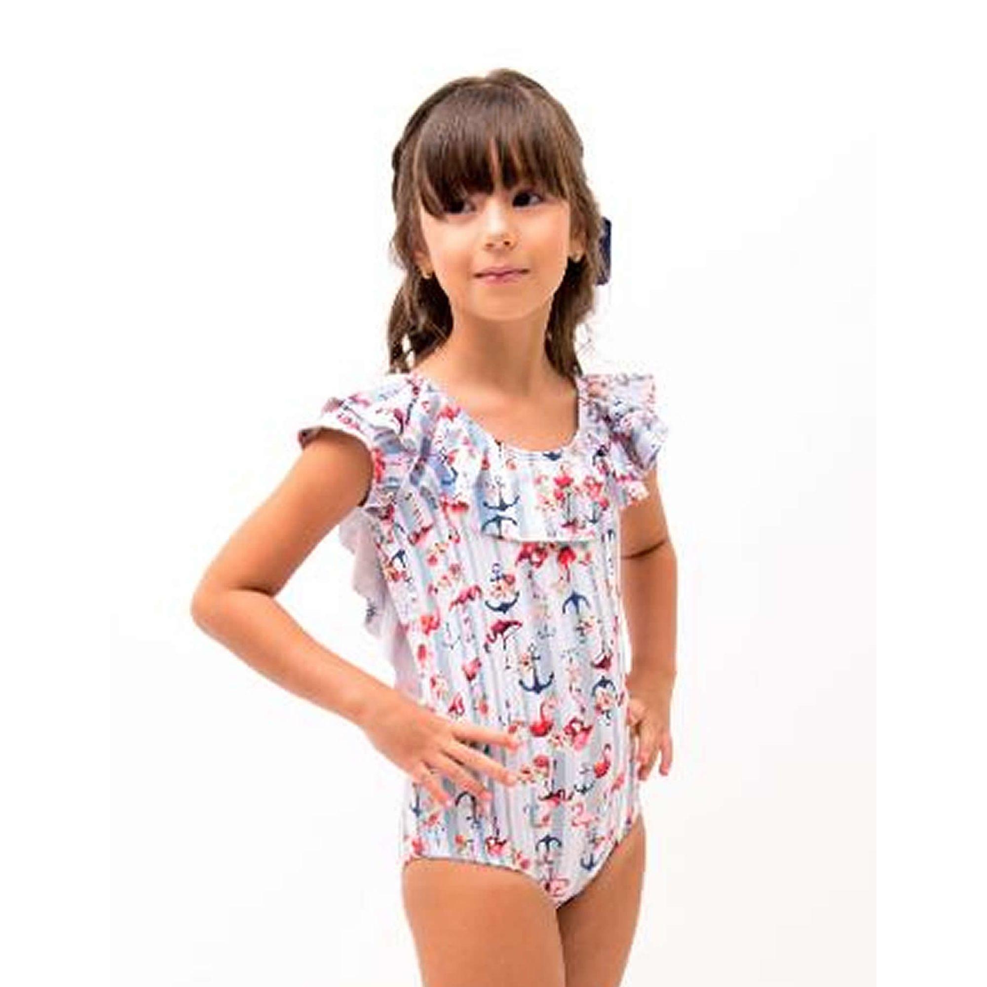 maio-infantil-babados-laco-costas-flamingos-navy-frente