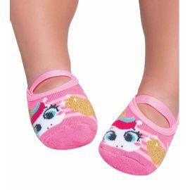 meia-bebe-sapatilha-boneca-unicornio-rosa-fluor