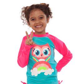 camiseta-menina-protecao-solar-coruja-arco-iris-puket-1