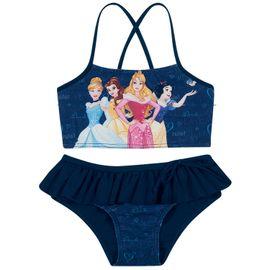 biquini-infantil-top-cropped-tirinhas-princesas-disney-marinho