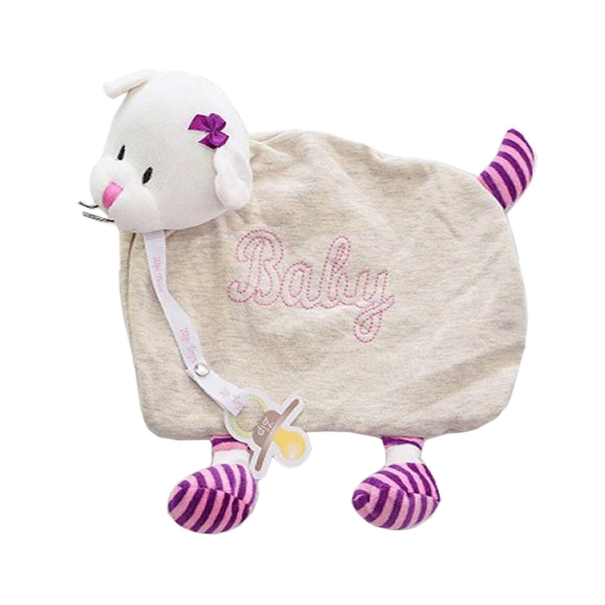 naninha-Blanket-Gata-com-Pernas-Cinza-com-Rosa-Ziptoys