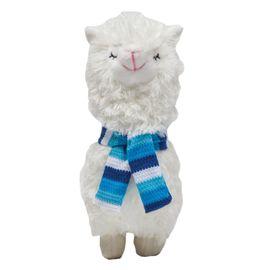 boneco-pelucia-lhama-cachecol-azul