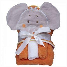 kit-toalha-com-capuz-e-3-toalhinas-elefante-laranja-1