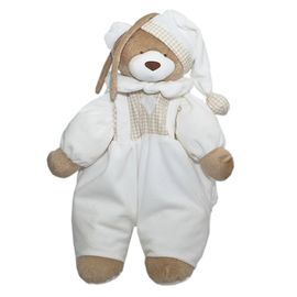 porta-pijama-urso-nino-marfim-bege-ziptoys