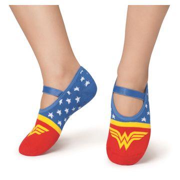 meia-sapatilha-infantil-mulher-maravilha-azul-e-vermelho-puket