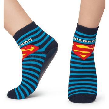 meia-infantil-pansock-superman-super-homem-listrada