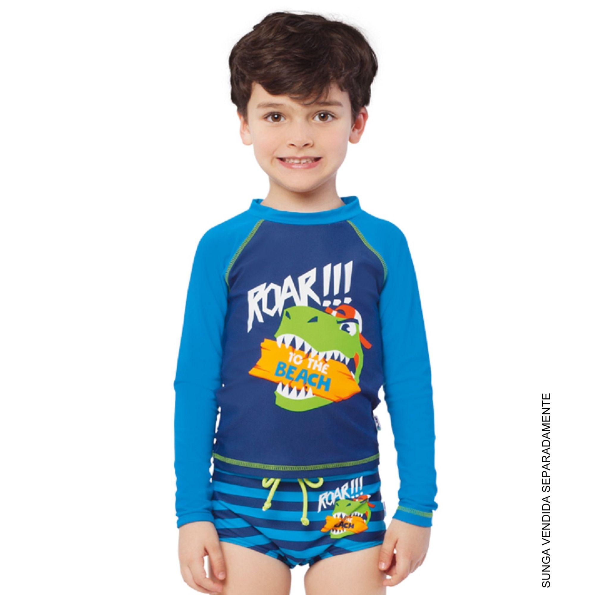 camiseta-praia-infantil-dino-beach-azul-1