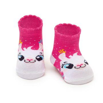meia-bebe-soquete-desenhada-lhama-pink-puket