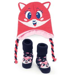 kit-touca-e-meia-bebe-raposa-goiaba-puket
