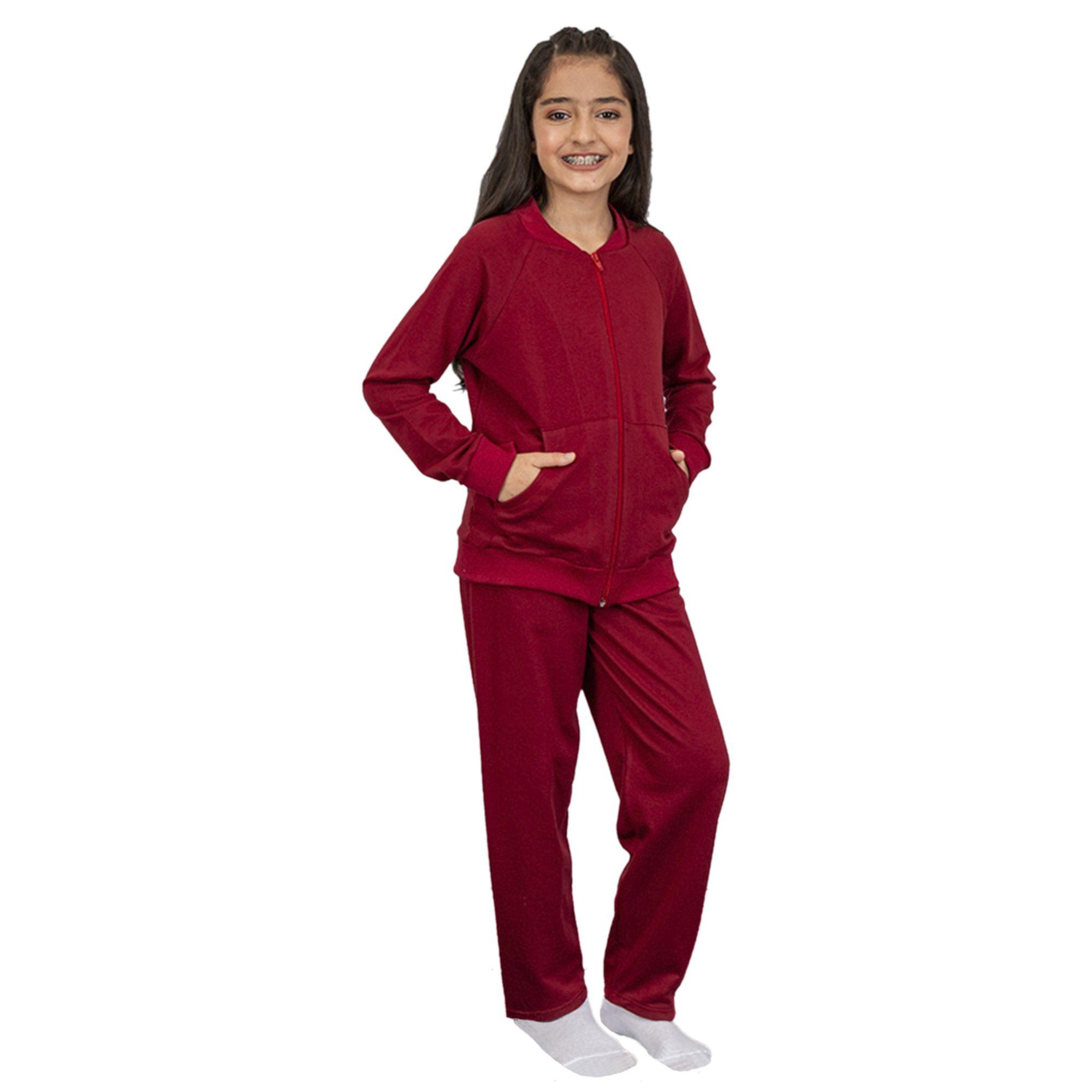 conjunto-moletom-infantil-meninas-com-ziper-vermelho
