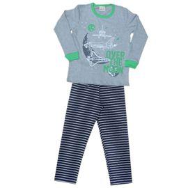 pijama-meninos-manga-longa-over-the-moon-cinza-e-verde