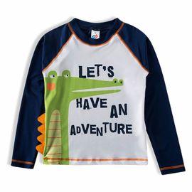 camiseta-protecao-solar-infantil-azul-marinho-jacare-tip-top-frente