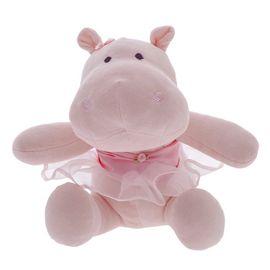 pelucia-hipopotama-giza-rosa-bailarina