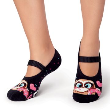 meia-sapatilha-boneca-infantil-bicho-preguica-rosquinhas